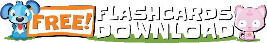 Free Flashcards Download Logo
