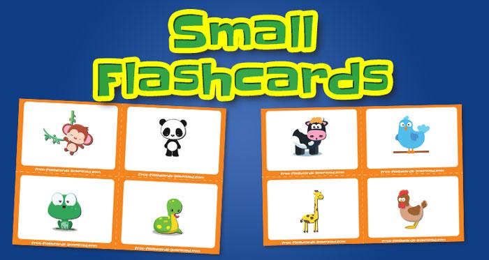 animals small flashcards set2