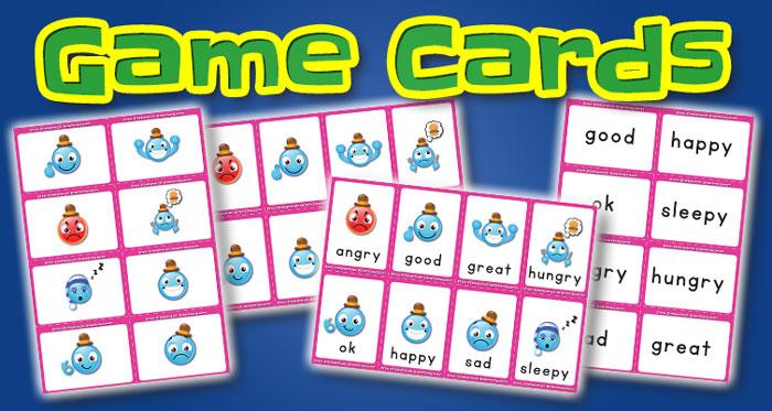 feelings game cards set1