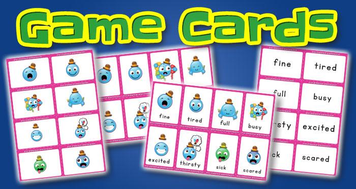 feelings game cards set2