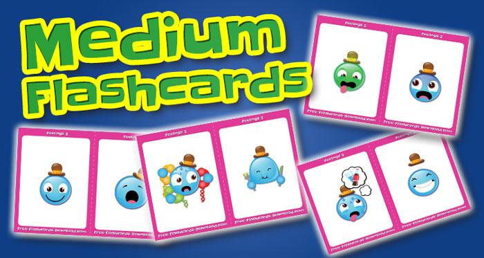 feelings medium flashcards set2