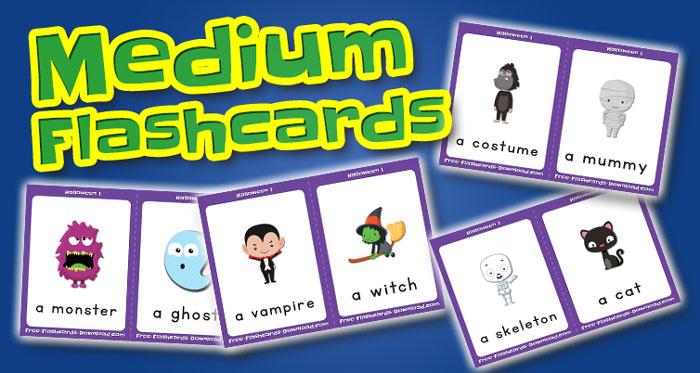halloween medium flashcards set1 captions