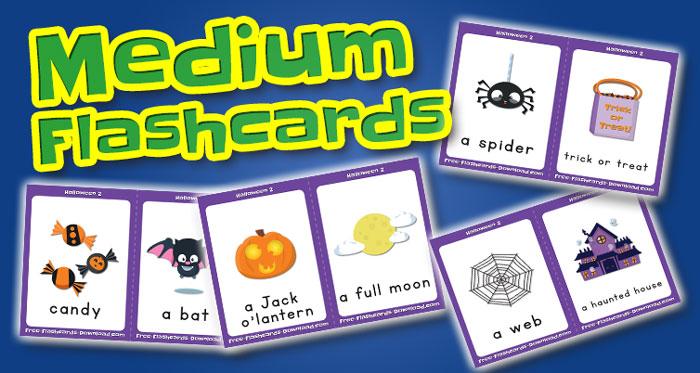 halloween medium flashcards set2 captions