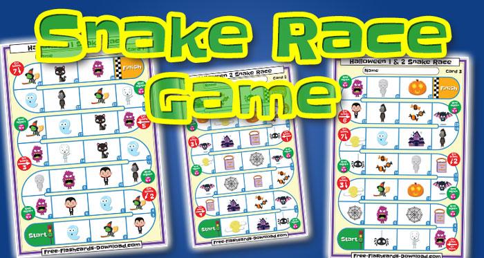 halloween snake race game