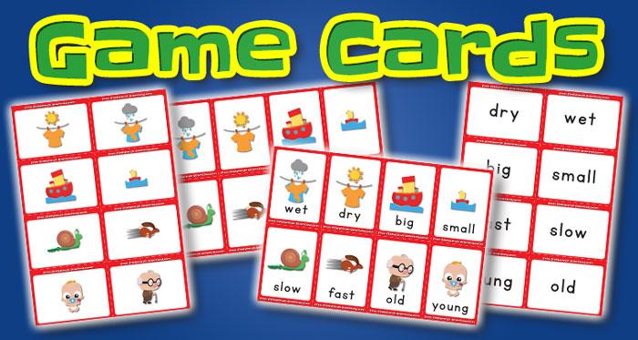 opposites game cards set2
