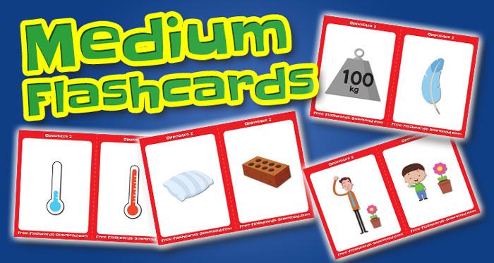 opposites medium flashcards set2