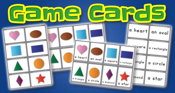shapes game cards set2