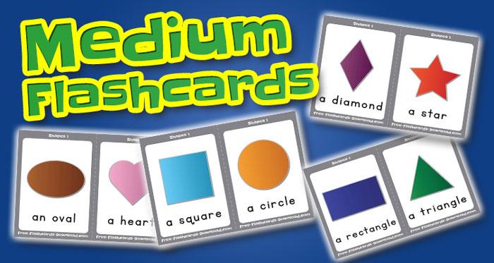 shapes medium flashcards set1 captions