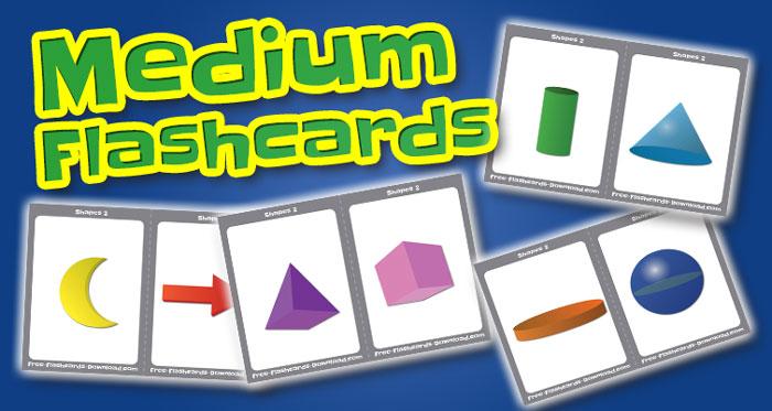 shapes medium flashcards set2 captions