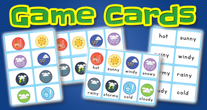 weather game cards set1