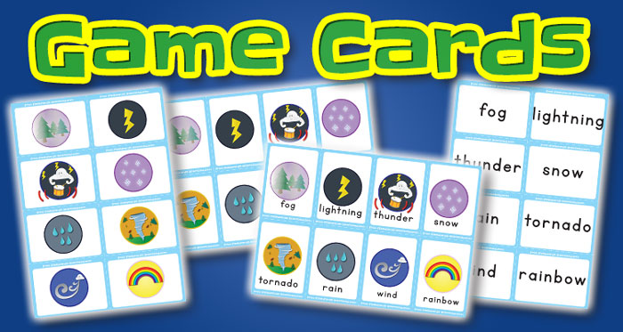 weather game cards set2