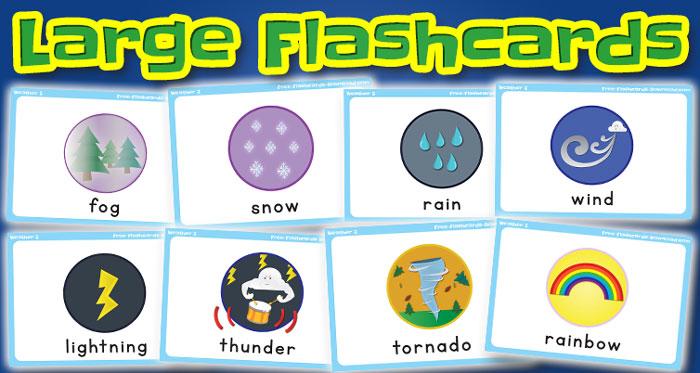 weather large flashcards set2 captions