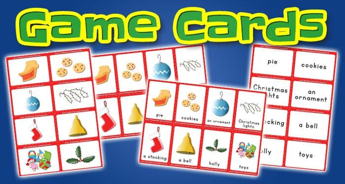 christmas game cards set2