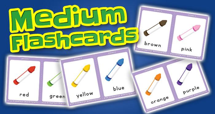 colors medium flashcards set1 captions