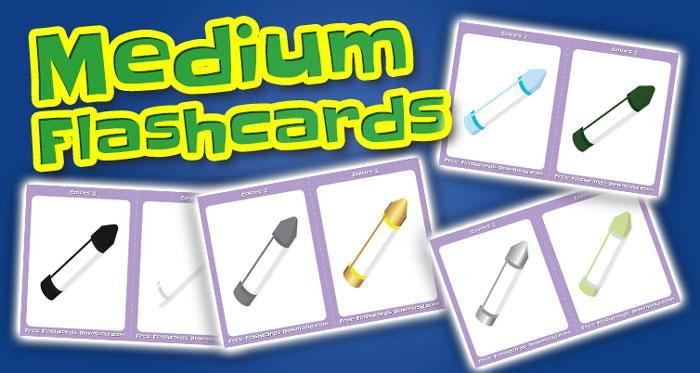 colors medium flashcards set2